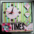 clock canvas